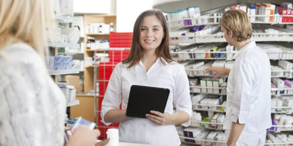 Become a Pharmacy Tech and Your Are Given Two Options - Be Trained on the Job Or Attend Courses