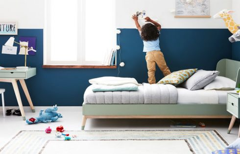 Can a Child's Bedroom Be Decorated inside a Fashionable and Educational Way?